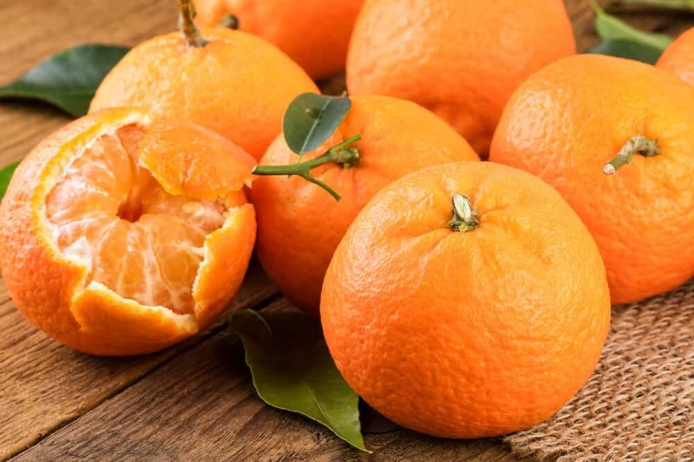 zeste de mandarine