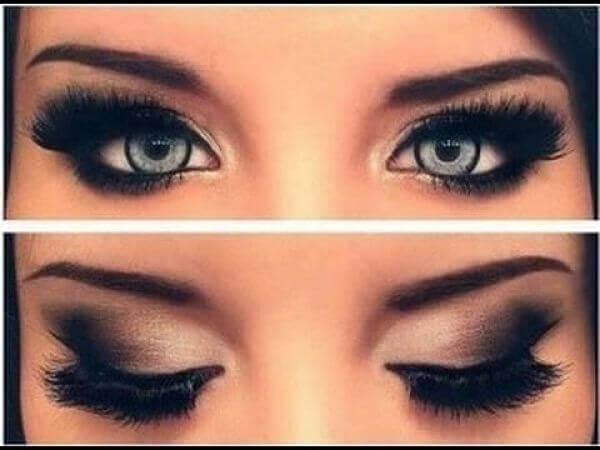 maquillage des paupieres si vos yeux sont petits