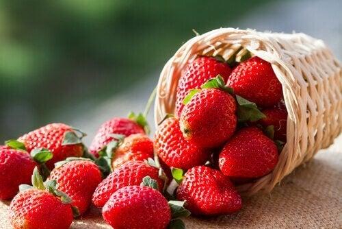 boisson de fraises