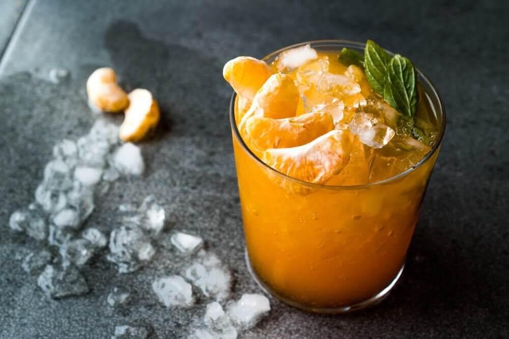 Délicieux mojito à la mandarine pour combattre la chaleur
