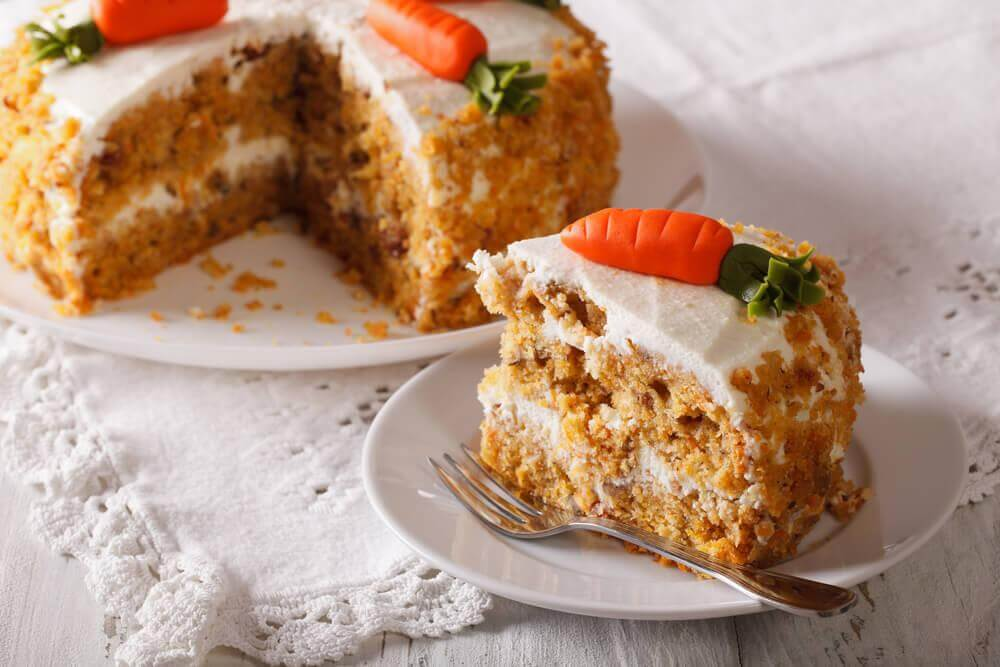 Délicieuse recette de gâteau à la carotte sans graisse