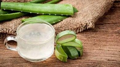 traitements naturels contre l'acné : aloe vera