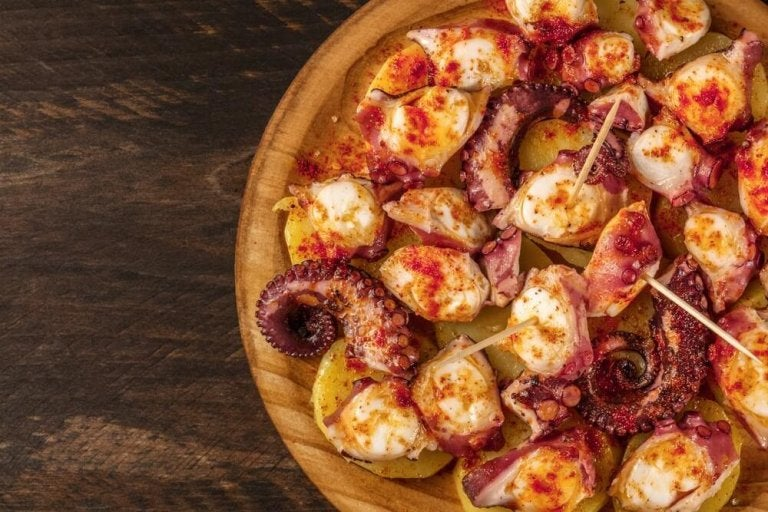 Délicieuse recette de poulpe à la galicienne