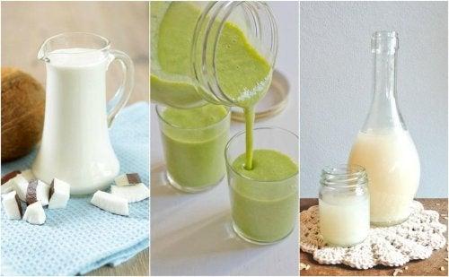 Recettes de smoothies verts