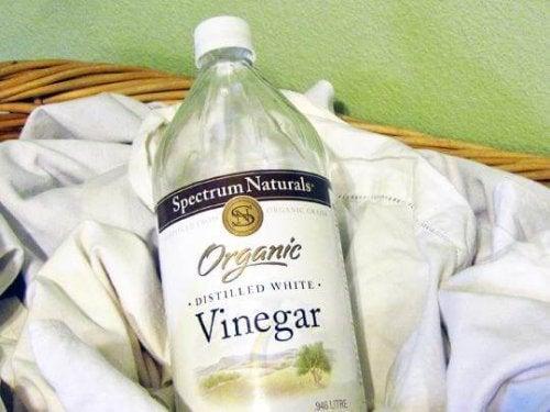 le vinaigre blanc pour éliminer les taches de déodorant