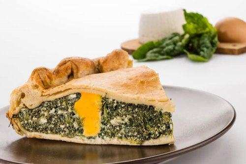 Apprenez à préparer une délicieuse tarte aux épinards et aux blettes