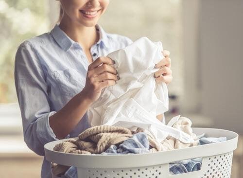vêtements en laine propres