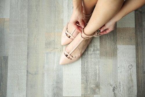chaussures qui vous feront paraître plus grande