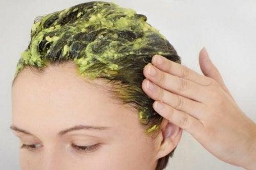 masque capillaire à l'avocat et à la mayonnaise pour éviter l'effet électrique des cheveux