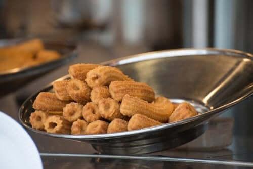 2 façons de faire des churros sans gluten pour les personnes cœliaques