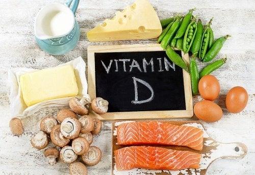 Plateau de vitamine D