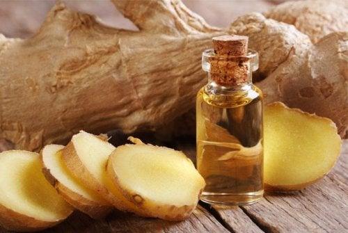 Remède au gingembre contre la douleur