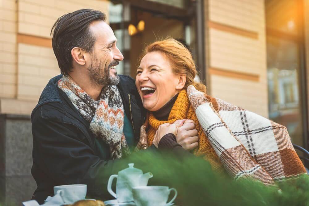 une relation amoureuse heureuse