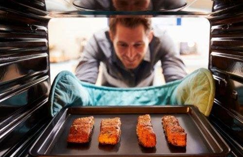 recette de saumon au four