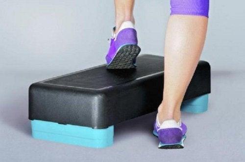 Les steps aident à jouir d'une bonne santé des os