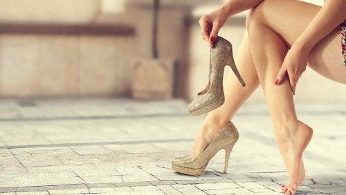 recycler de vieilles chaussures