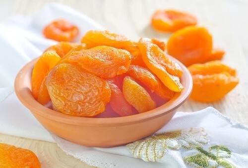 bienfaits de l'abricot sec