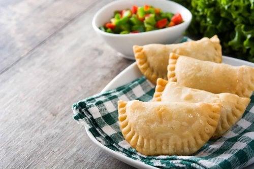 Empanadas aux légumes : recette maison au four