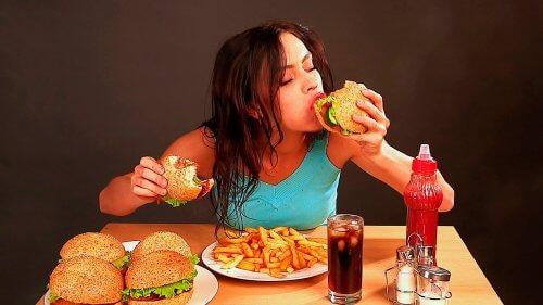 différences entre faim physique et anxiété
