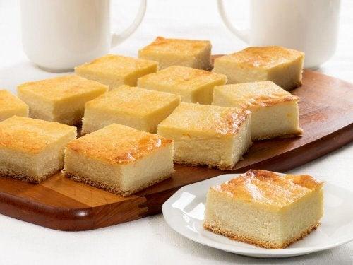 desserts parfaits à partager en famille : cheesecake à l'ananas