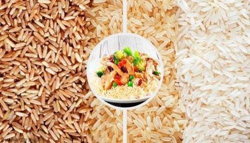 Riz, légumes et graines de chia : des aliments faibles en calories et en cholestérol