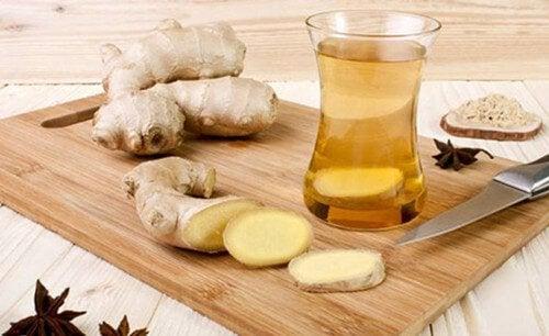 Le gingembre pour combattre les vomissements