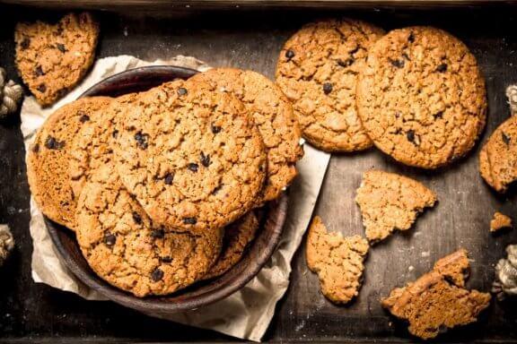 3 recettes de biscuits à l'avoine sans levure