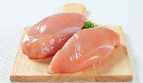la consommation de blanc de poulet permet de prendre de la masse musculaire