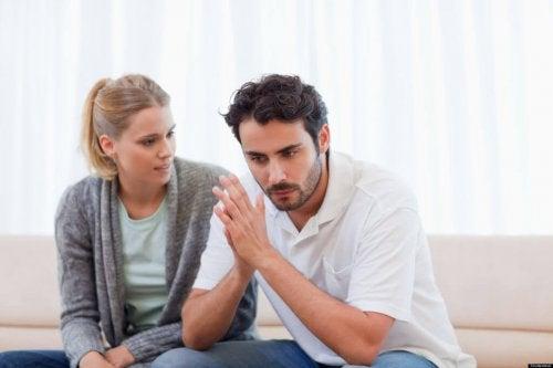 votre partenaire ne veut pas travailler ? Discutez-en