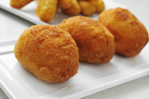 croquettes au jambon et au poulet