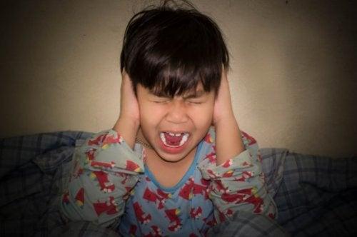 crises de colère chez l'enfant