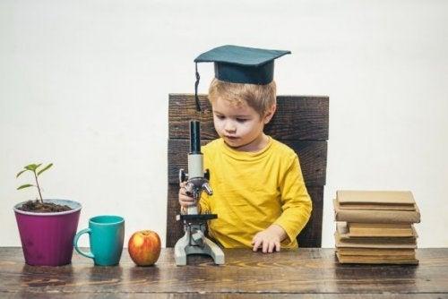 Comment reconnaître un enfant surdoué