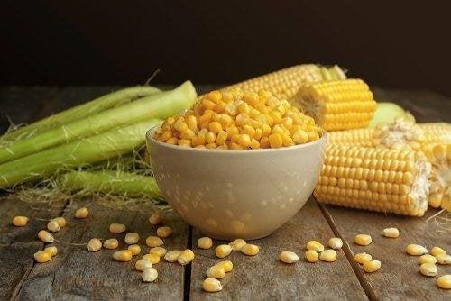 céréales complètes : flocons de maïs