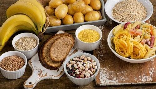 manger des hydrates de carbone pour prendre de la masse musculaire