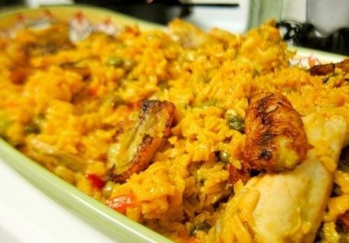riz au poulet façon espagnole
