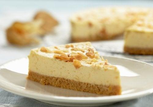 gâteau cheese-cake à la banane