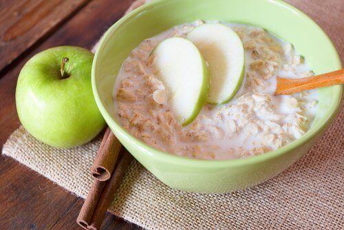 avoine et pomme pour un coeur en bonne santé