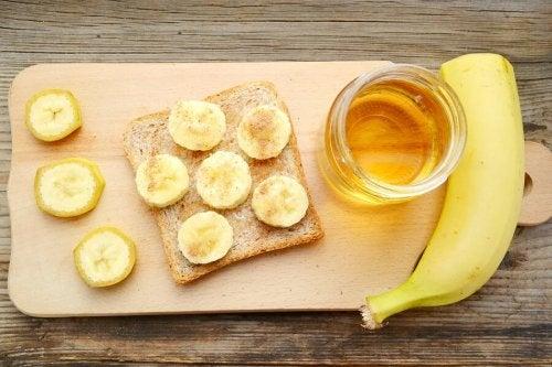 cake banane et miel