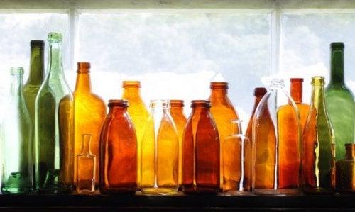 Comment recycler vos bouteilles en verre pour décorer votre jardin