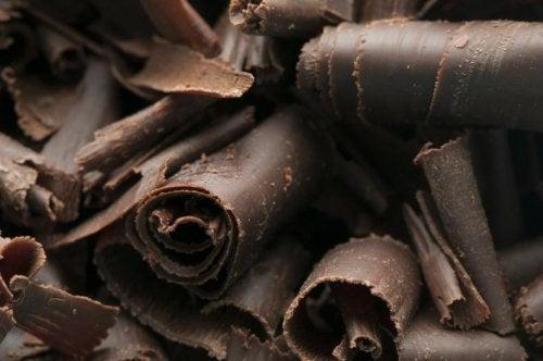 madeleines au chocolat noir