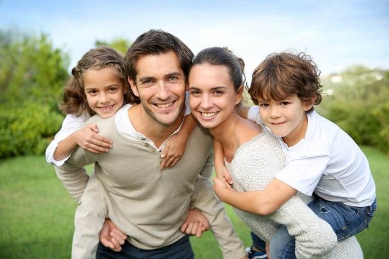 Les 6 valeurs d'une famille heureuse