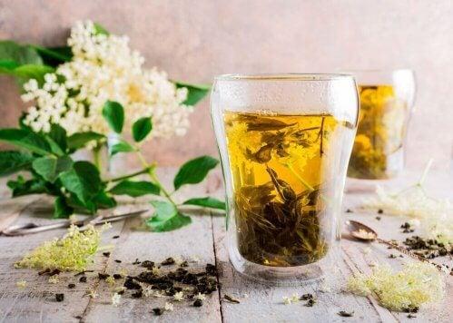 infusion de fleur de sureau et de réglisse pour lutter contre les allergies