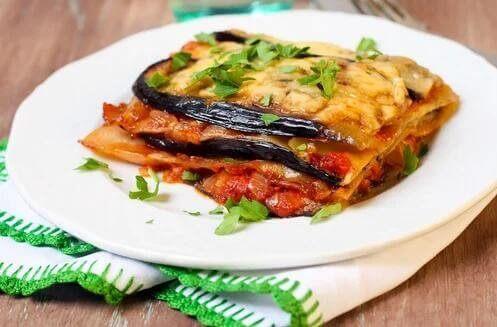 lasagnes sans pâte
