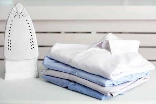 méthodes de pliage des chemises