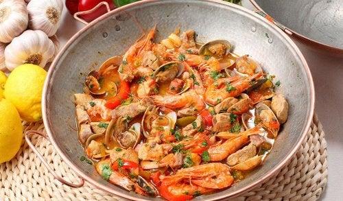 les crevettes sont des fruits de mer