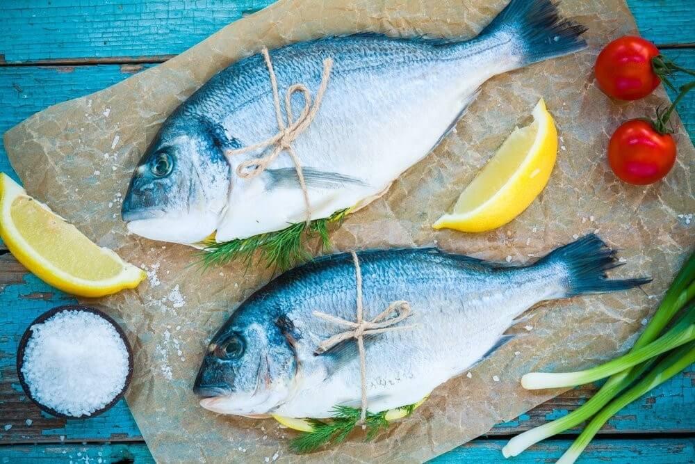 poisson bleu pour prendre soin de votre peau