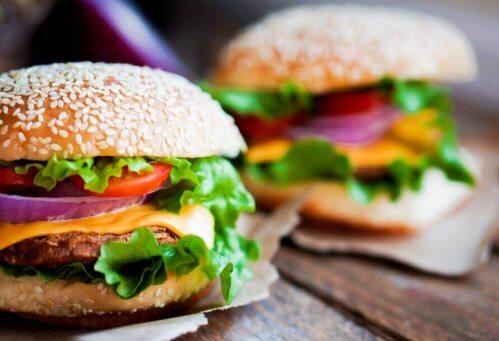 recette de hamburger au poulet