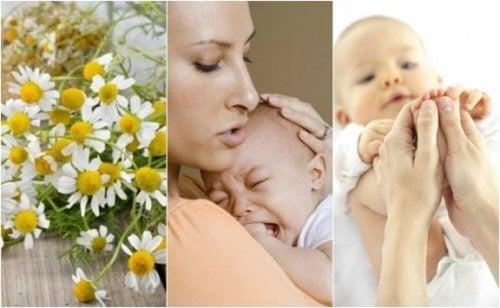 5 remèdes naturels pour soigner la colique chez les nourrissons