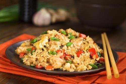 recette de riz frit