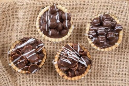 Apprenez à faire de délicieuses tartelettes au chocolat